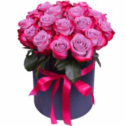 """Композиция """"Фиолетовые розы"""""""