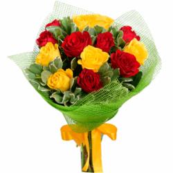 Букет из 13 кенийских роз
