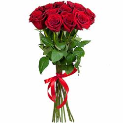 Букет из 15 красных роз-премиум Эквадор