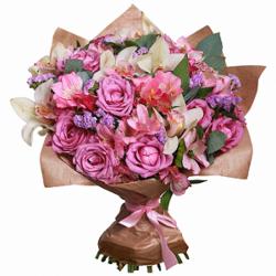 """Букет """"Фиолетовые розы"""""""
